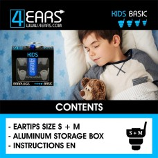 4EARS KIDS (Blue) BASIC- EN