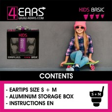 4EARS KIDS (Purple) BASIC - EN