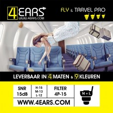 4EARS FLY & TRAVEL PRO 15dB
