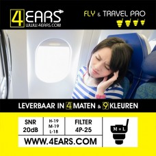 4EARS FLY & TRAVEL PRO 25dB
