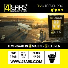 4EARS FLY & TRAVEL PRO 20dB