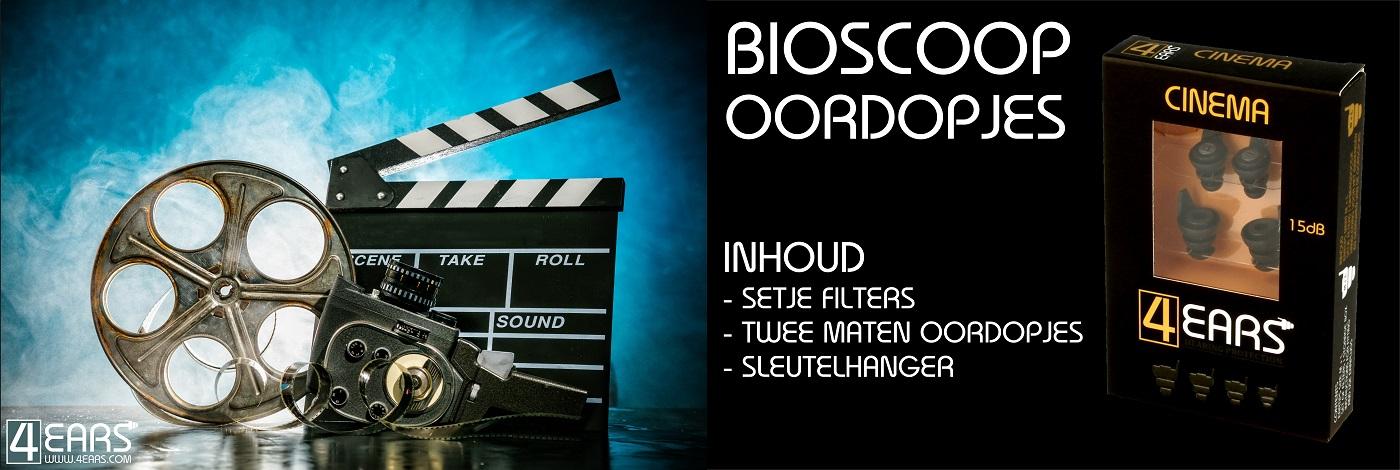 4EARS Oordopjes Bioscoop Oordoppen Film kijken Popcorntime