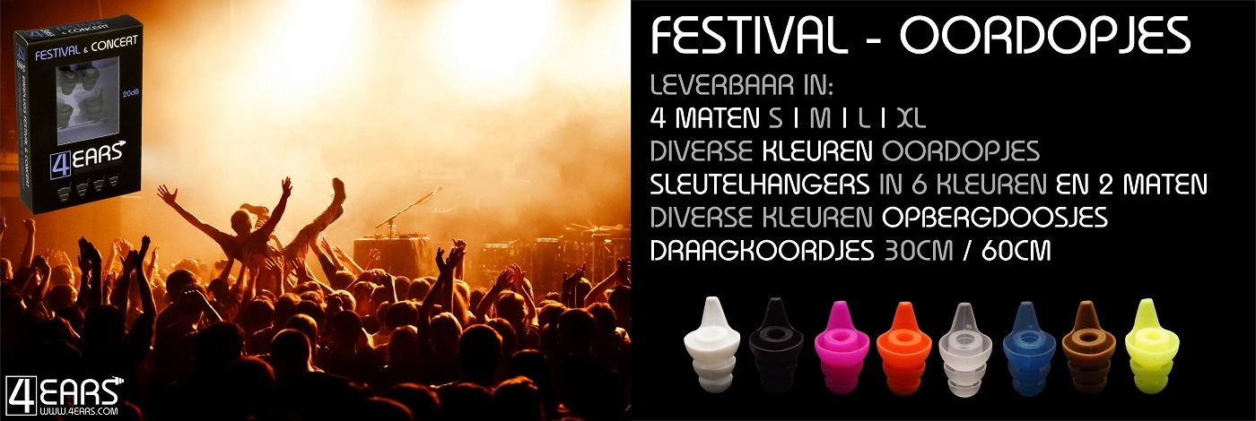 4EARS Oordopjes Festival Oordoppen Concert Muziek Festivaldopjes