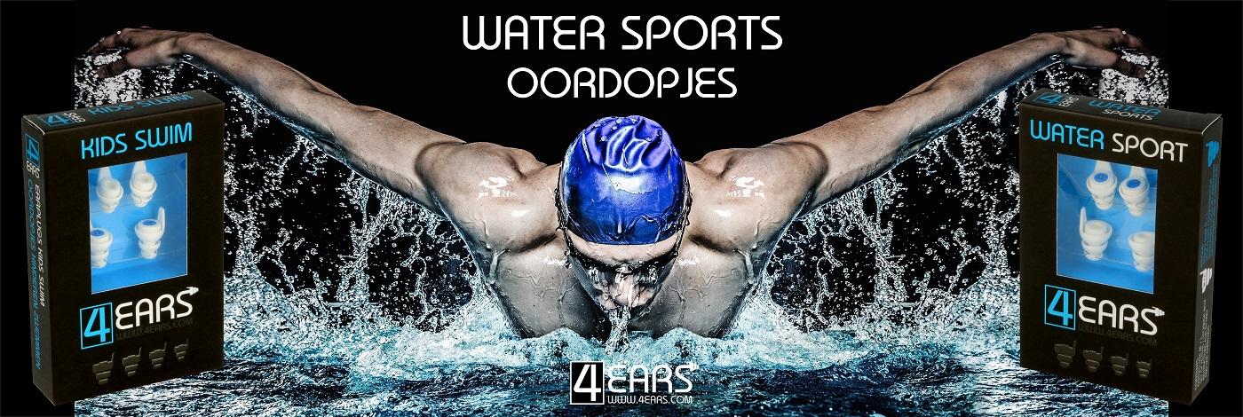4EARS Oordopjes Watersport Zwemmen Oordoppen Zwemles