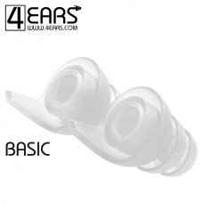 4EARS Basic L Ear Tips Transparant