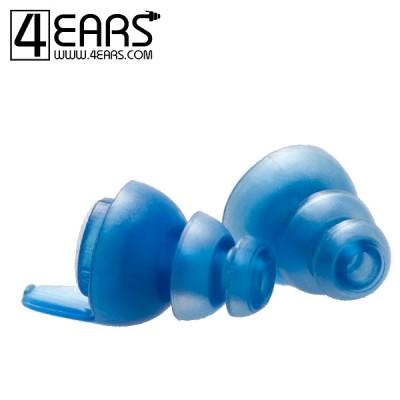 4EARS Medium Ear Tips Blauw