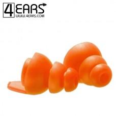 4EARS Large Ear Tips Oranje