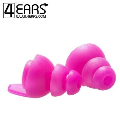 4EARS Extra Large Ear Tips Roze