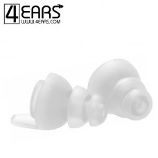 4EARS Extra Large Ear Tips Transparant