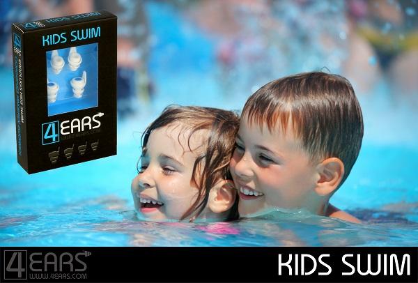 b9ada96c6aa 4EARS KIDS SWIM Oordopjes Kinderen Zwemmen Oordoppen tegen water ...